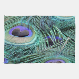 peacock eyes kitchen towel