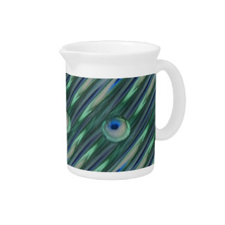 Peacock Eyes Pitcher