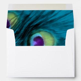 Peacock Fantasy Envelope Set 1110-1111