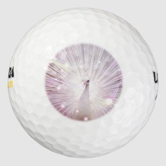 Peacock Fantasy in Pink Golf Balls
