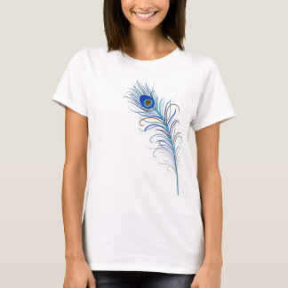 Peacock Feather 2 T-shirt
