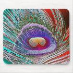 Peacock Feather 3 Mousepad