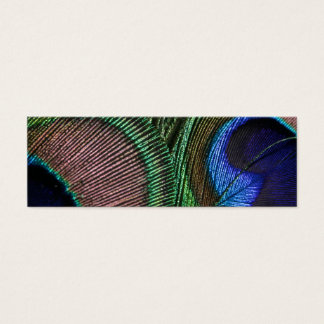 Peacock Feather Business Card