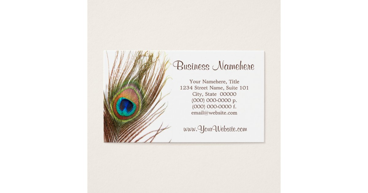 Feather Business Cards & Templates | Zazzle