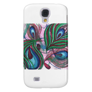 Peacock Feather by Masoom Sanghi Samsung Galaxy S4 Case