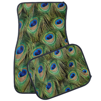 Peacock Feather Car Mats