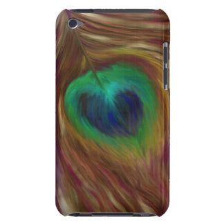 Peacock Feather iPod Case-Mate Cases