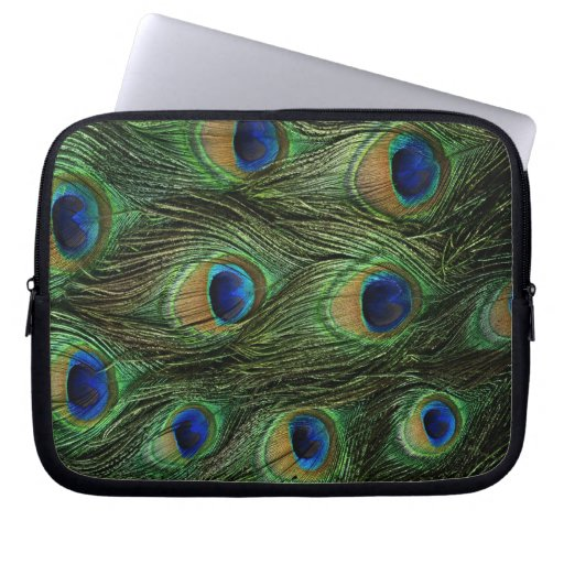 Peacock Feather Case Cover Computer Sleeves