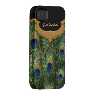 Peacock Feather - Case Mate iPhone 4/4S Cases