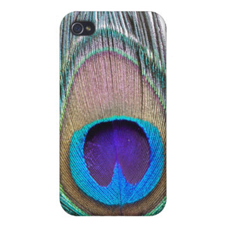 Peacock Feather Covers For iPhone 4