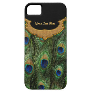 Peacock Feather - Customize iPhone SE/5/5s Case