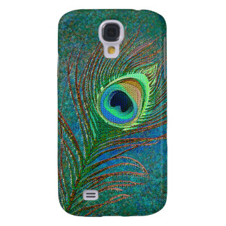 Peacock feather decorative  samsung galaxy s4 case