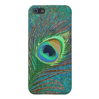 Peacock feather elegant  case for iPhone SE/5/5s