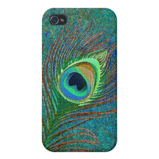 Peacock feather elegant  iPhone 4 covers
