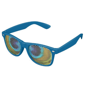 Peacock Feather Eyes Retro Sunglasses