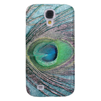Peacock Feather Galaxy S4 Cover