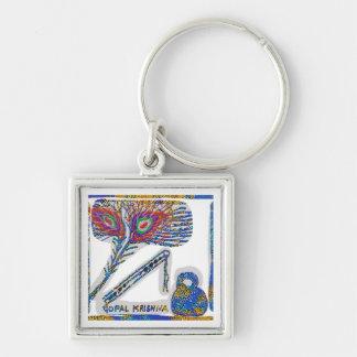 Peacock Feather : Gopal Krishna Keychains
