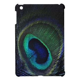 Peacock feather iPad mini case