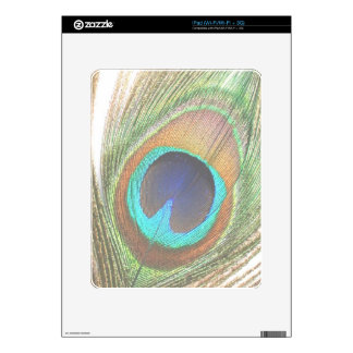 Peacock Feather iPad Skin