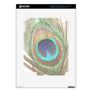 Peacock Feather iPad  Skin Decal For iPad 3