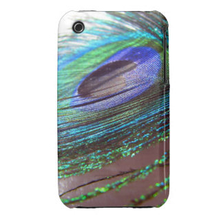Peacock feather iPhone 3gs case Case-Mate iPhone 3 Case
