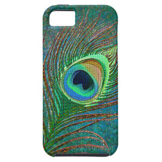 Peacock feather iPhone 5 cases