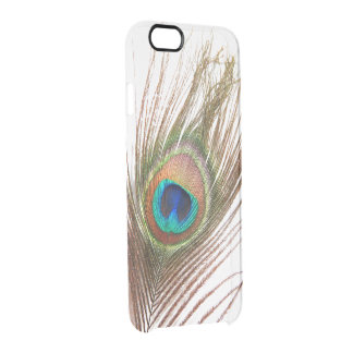 Peacock Feather iPhone 6 Clear Case Uncommon Clearly™ Deflector iPhone 6 Case