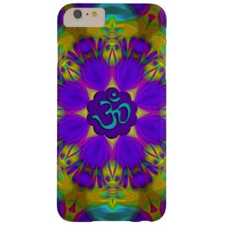 Peacock feather kaleidoscope aum tough xtreme iPhone 6 case