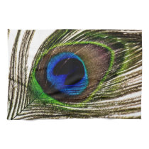 Peacock Feather Kitchen Towel