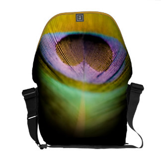 Peacock Feather Messenger Bags