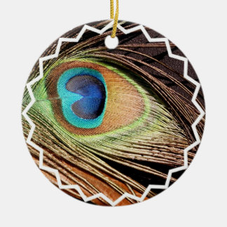 Peacock Feather Ornament
