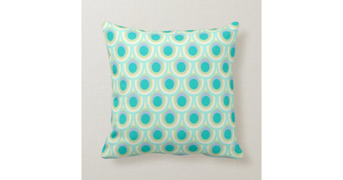 Throw Pillows With Feather Design : Peacock feather pattern design throw pillow Zazzle