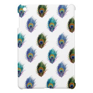 Peacock feather pattern iPad mini covers