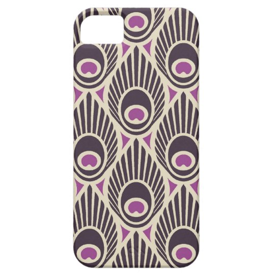 Peacock Feather Pattern iPhone 5 Case