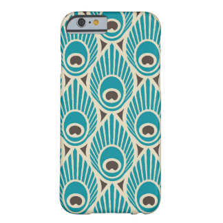 Peacock Feather Pattern iPhone 6 case