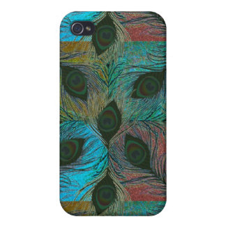 Peacock feather pern  iPhone 4/4S covers