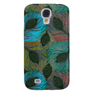 Peacock feather pern  samsung galaxy s4 cover