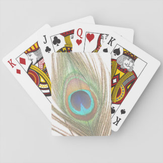 Peacock Feather Playing Cards