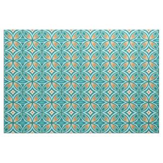 Peacock Feather Print on Pima Cotton Fabric