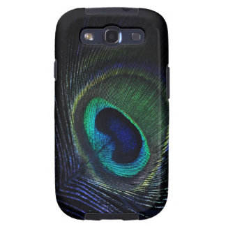 Peacock feather Samsung Galaxy S III case Samsung Galaxy SIII Case