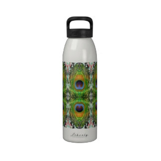 Peacock Feather Show Drinking Bottles