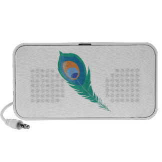 Peacock Feather iPhone Speakers