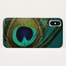 Peacock Feather Stylish Chic Photo Phone Case