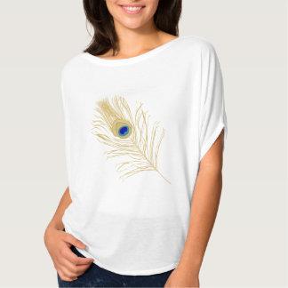 Peacock Feather Top Tee Shirt