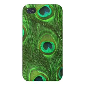 Peacock Feathers 4/4s Case For iPhone 4