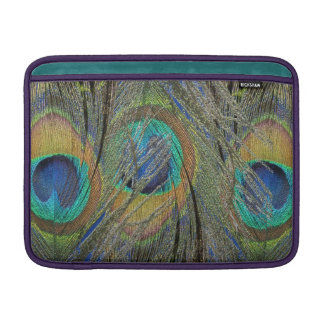 Peacock Feathers and Eyes MacBook Cover