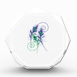 Peacock Feathers Award