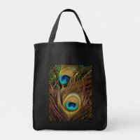Peacock Feathers Bag bag