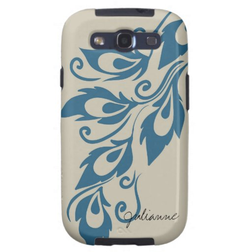 Peacock Feathers Samsung Galaxy SIII Covers