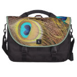 Peacock Feathers Commuter Bag
